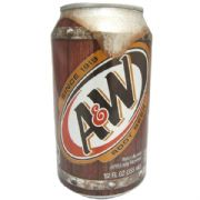 A&W Root Beer - case of 12 cans (355ml)